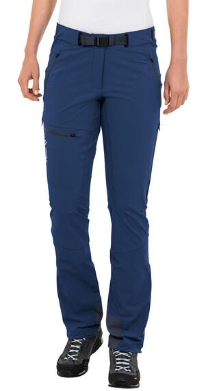 VAUDE Badile II Pantaloni lunghi Donna blu